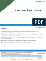 Manual de Instalação E-book