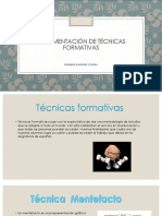 Implementación de Técnicas Formativas