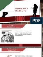 Referéndum y Plebiscito