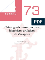 Catálogo de Monumentos Históricos-Artísticos De Zaragoza._ebook
