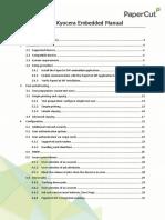 PaperCut MF - Kyocera Embedded Manual-2019!09!18
