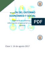 Visión del entorno económico