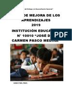 PLAN DE MEJORA 2019 10010 SI .II.docx