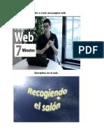 Aprender a Crear Una Página Web