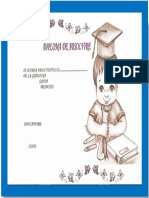 Diplomă Absolvire Băiat-lavinia