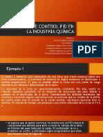 Ejemplos de Control Pid en La Industría Química