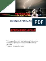 Aprovação Aple # Tuterialbrasil#