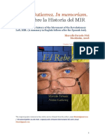 Notas sobre la Historia del MIR