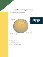 Problemas Prop. y Resueltos de Electromagnetismo 2016