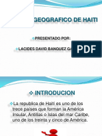 Paisaje Geografico de Haiti
