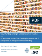 Crowdfunding Among IT Entrepreneurs in Sweden