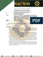 Informe de Aprobacion La Paz (Senati)