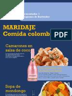 maridaje de vinos con recetas colombianas