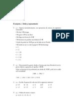 Matematicas Resueltos (Soluciones) Números Enteros 1º ESO 1ª Parte