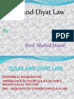 Qisas and Diyat Law Dr Shahid Hanif Slides.pptx