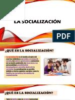 Teoria de La Educaión Socialización Exposición