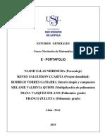 E - Portafolio Grupo 6