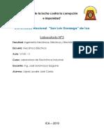 Electronica Industrial (Laboratorio) 3