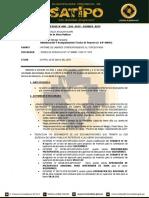 INFORME N° 0005 INFORME DE LABORES