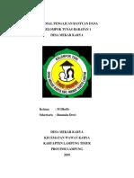 Cover Proposal Pengajuan Bantuan Dana