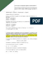 Ejercicios de Quimica Molaridad PH y Redox