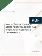5. Avaliação e Intervenção Neuropsicopedagogica