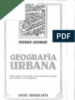 Geografia Urbana de Pierre George