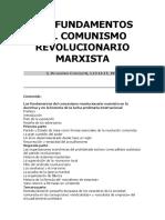 LOS FUNDAMENTOS DEL COMUNISMO REVOLUCIONARIO MARXISTA (DEF).doc