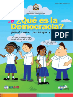 3 Folleto Que Es La Democracia
