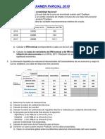 examenes parciales de economia