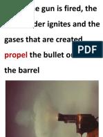 GPR (Gun powder residue)