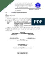 Surat Akomodasi Truk Korem LDK2019