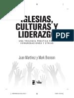 Iglesias, culturas y liderazgo Juan Martínez