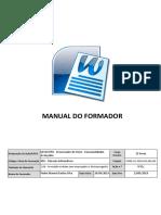 Manual Formador Processador de Texto
