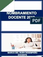 Sesion Marco Del Buen Desempeño Docente