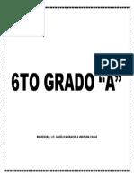 6TO GRADO