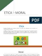 Ética – Moral