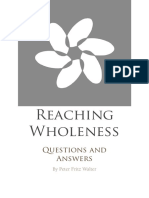 Reaching Wholeness Questions and Answers