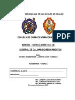 MANUAL Control Calidad Medicamentos(1)
