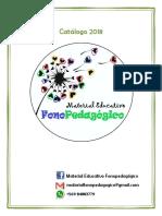 Catálogo Fonopedagógico 2018