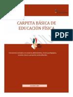 Carpeta básica educación física