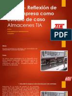 PASO 4 - ALMACENES TIA - Fundamentos de Admon