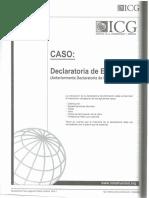 Declaratoria de Edificación Planos