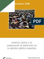 América Latina y la cooperación al desarrollo en la opinión pública española