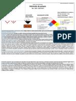 Tarjeta de Emergencia - Hidróxido de Potasio