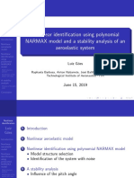 Aeroelastic System Identification