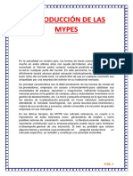 Diagnóstico de Las Mypes Original