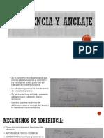 ANCLAJE Y ADHERENCIA.pptx