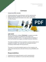 Job Description Estimator.docx