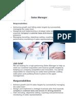 Job Description Sales Manager.docx